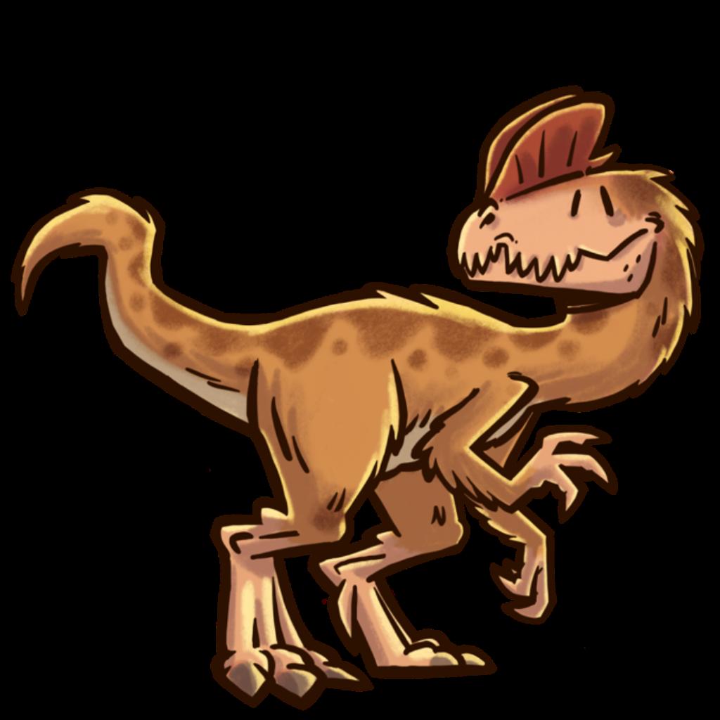 extincion-dinosaurios-Dilophosaurus