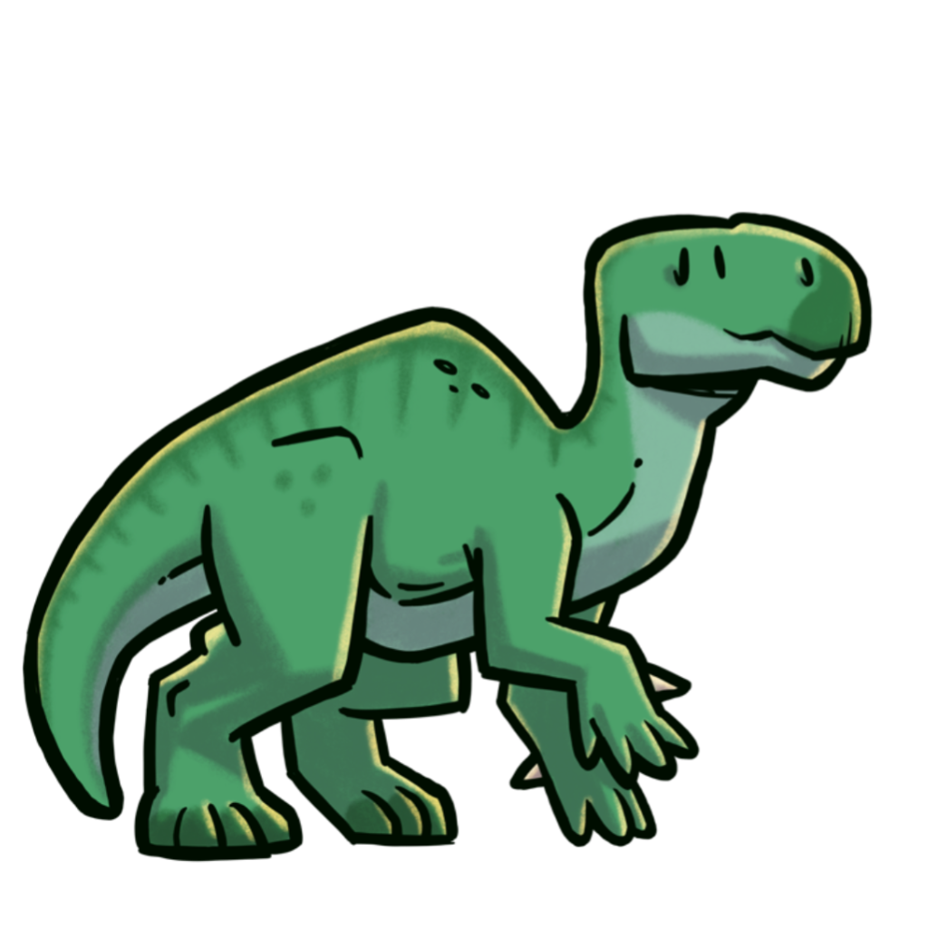 extincion-dinosaurios-Iguanodon