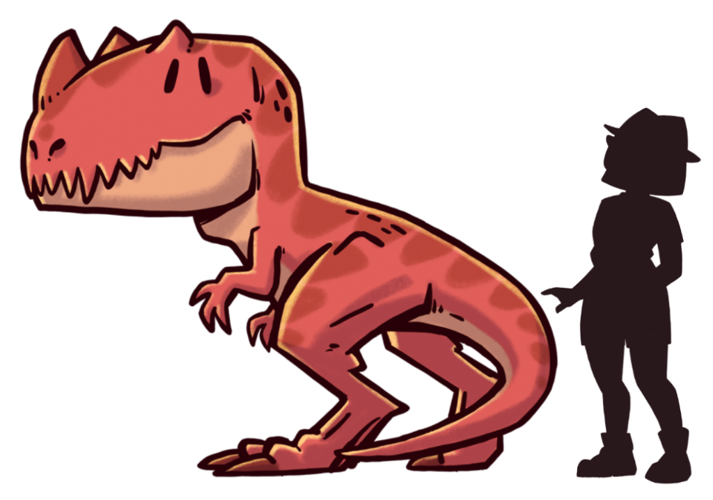 tamano-dinosaurios-extincion-ceratosaurus