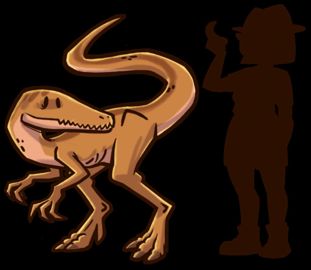 tamano-dinosaurios-extincion-coelophysis