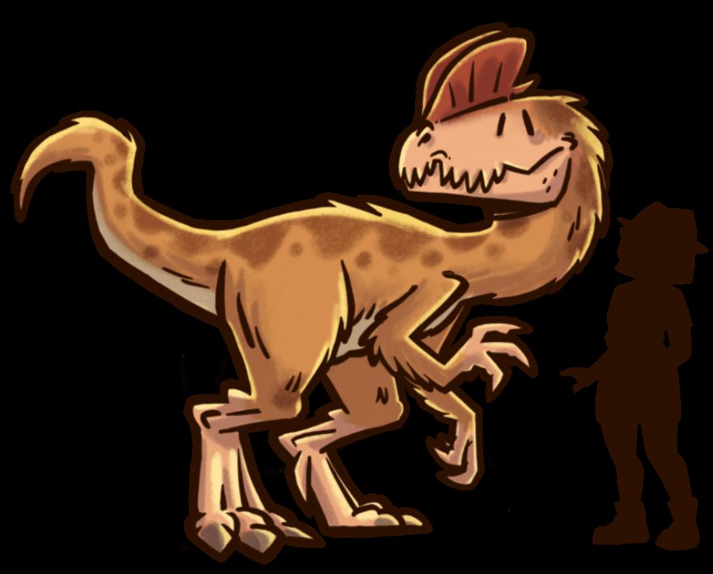 tamano-dinosaurios-extincion-dilophosaurus