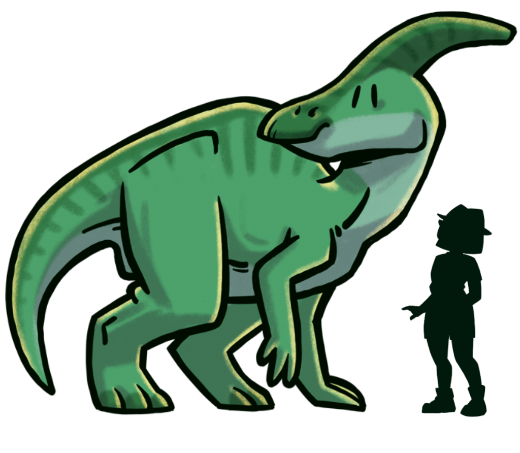 tamano-dinosaurios-extincion-parasaurolophus