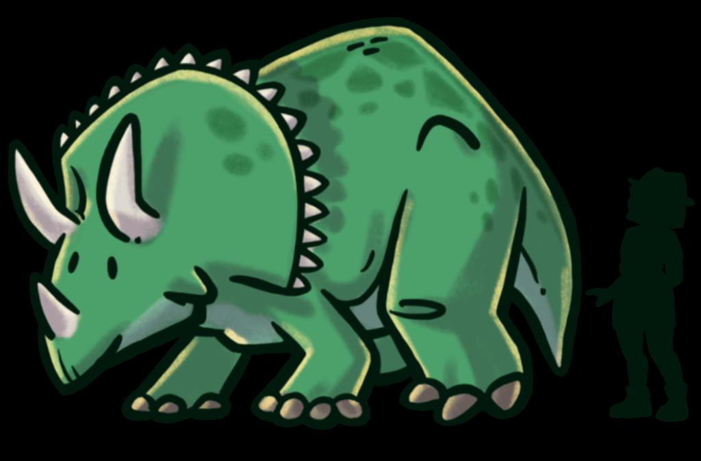 tamano-dinosaurios-extincion-triceratops