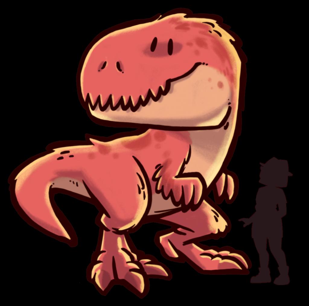 tamano-dinosaurios-extincion-tyranosaurus-rex